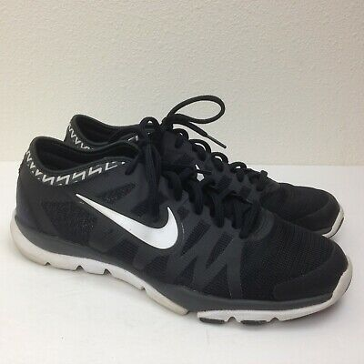 f728d9a4fe56 Women s NIKE Training Flex Supreme TR3 Black Running Shoes Sneakers Size  10.5