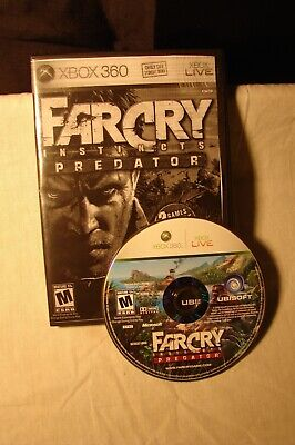 Far Cry Instincts: Predator (Microsoft Xbox 360, 2006)   .. CLEAN TESTED