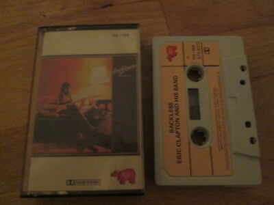 Eric Clapton And His Band – Backless - Canadian  Cassette 1978