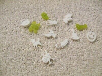 Operation FX game replacement parts pieces 12 funatomy parts lot bones bell dog
