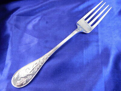 Tiffany Audubon Sterling Silver Serving Fork - Excellent Condition T