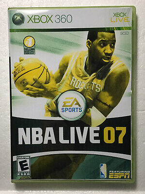 NBA Live 07 (Microsoft Xbox 360, 2006)     ..  CLEAN TESTED