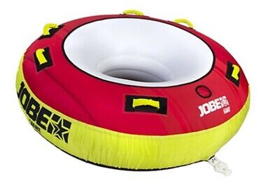 2019 Jobe Giant Tractable Gonflable Tube 3 Rider Rouge. 34544
