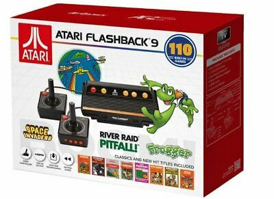 At Games Atari Flashback 9 Console AR3050 Electric Games 110 Build In Classic