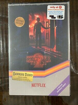 Stranger Things Season 2 Collectors Edition 4K/Ultra/Blu-Ray. Free Shipping!!!