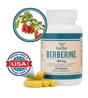 $AVE! *Berberine HCL 500mg Cardiovascular, Mental Health & Blood Glucose Support