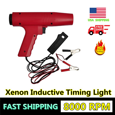 Xenon Inductive Timing Light Engine Motor Automotive Tune Up Tool Truck Gun US