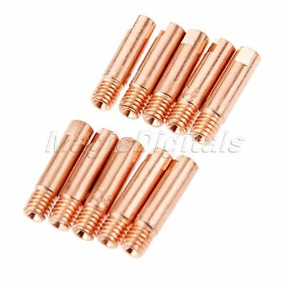 Useful MB 15AK MIG MAG Welding Contact Tips Welding Torch Consumable Parts 10pk
