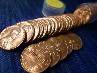 1961 P Lincoln Cent Roll Uncirculated ~ Copper Memorial Penny Roll