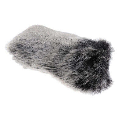Outdoor Furry Microphone Windscreen Muff Windshield Cover for Videomic