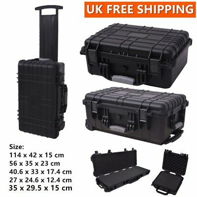 Protective Camera Equipment Hard Carry Case Plastic Box Tool Accessories Storage