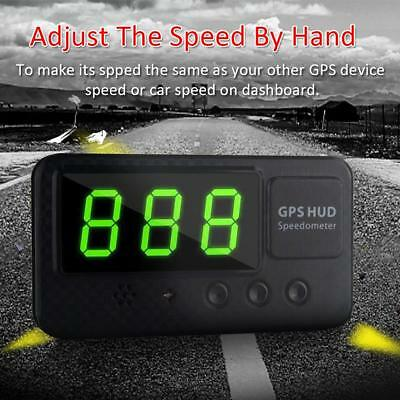 C60S Digital Car GPS Speedometer Speed Display KM/h MPH For Car Bike Motorcycle