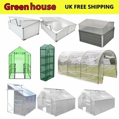 Outdoor Garden Greenhouse Frame PVC Cover Grow House Tent House Plants Flower