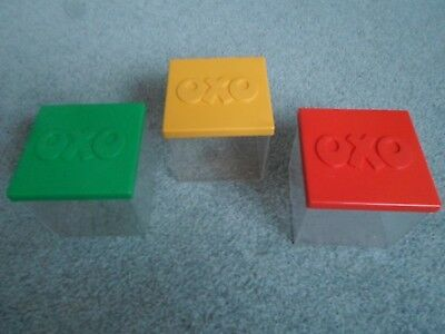 Vintage Oxo Container Set