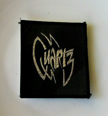 QUARTZ ORIGINAL VINTAGE SEW ON PATCH FROM 1980's  NEW OLD STOCK NWOBHM METAL