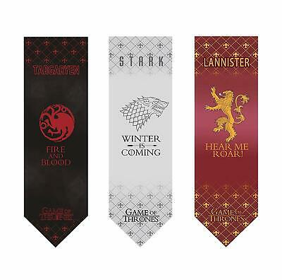 Game Of Thrones Banner- High Quality,%100 Polyester - 18'' x 60'' -(3 PACK)