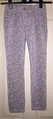 United Colours Of Benetton Soft Grey Mix Trousers, Age 10-11 Years - Fab!