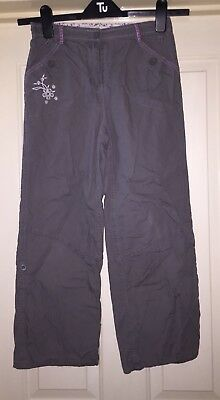 Peter Storm Khaki Adventurers Trousers, Age 9-10 Years - Fab!