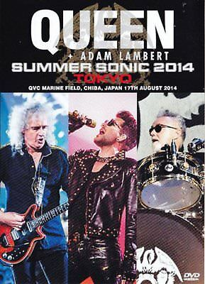 Queen Adam Lambert Live in Japan Sommer Sonic 2014 Blu-ray CD Gqxs-90248 S Neu