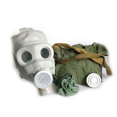 PMG Soviet Army Gas Mask. USSR Military. Mask, bag, pouch! Size: 2