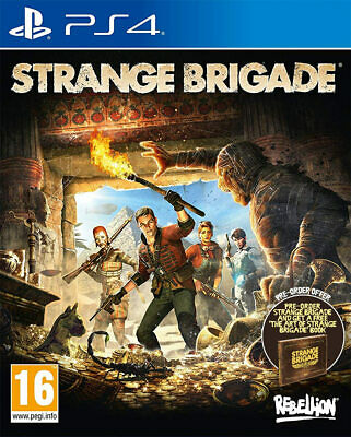Strange Brigade (PS4)  BRAND NEW AND SEALED - IN STOCK - QUICK DISPATCH