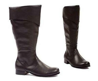 Costume Shoes - Men's Black Pirate Boot