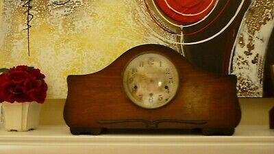 Antique Seth Thomas Mantle Clock modified with a quality quartz movement