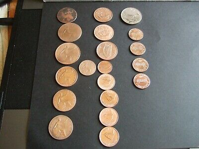 Nice Selection of UK (14) + USA (4) Coins Dating from 1771-1983 From F-EF Con!