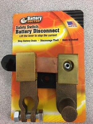 Battery Doctor by Wirth Co. Safety Switch Battery Disconnect