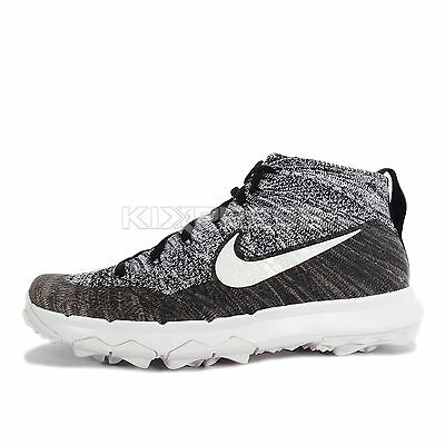 9f04e6edaa052 NIKE - 819006-700 -FLYKNIT CHUKKA -Women s Golf Shoes -Volt Jade ...