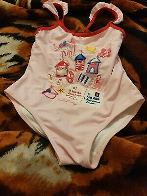 Lovely Girls YD DISNEY MINNIE MOUSE  Swimming Costume Age 4-5 Years