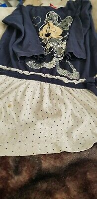 Lovely Girls Disney Minnie Mouse Top Dress Age 4-5 Years