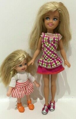 Barbie Dolls - Sisters Camping - Shelly & Stacie with Freckles Doll - 2008