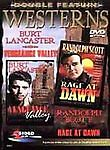 Double Feature Westerns: Vengeance Valley/ Rage at Dawn (DVD, 2000)