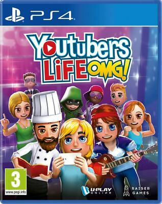 YouTubers Life! OMG (PS4) BRAND NEW AND SEALED - IN STOCK - QUICK DISPATCH