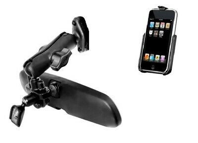Vehicle Rear View Mirror Mount Holder for Apple iPod Touch 2nd & 3rd Generation