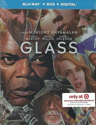 GLASS 2-Disc Limited Exclusive Collectible SteelBook (Region Free/1 Blu-ray/DVD)