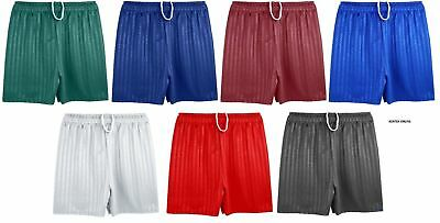 Youth's Men's Shadow Stripe Gym Sports Football Games Shorts 100% polyester