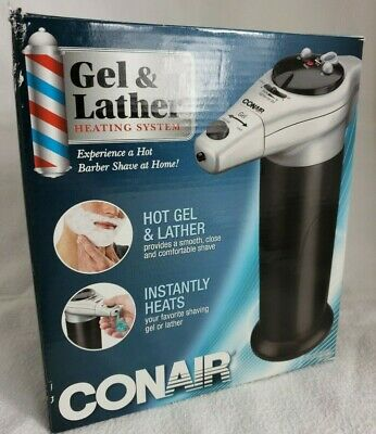 Gel Lather Heating System Shaving Cream Warmer Heater Dispenser Warm Men Barber