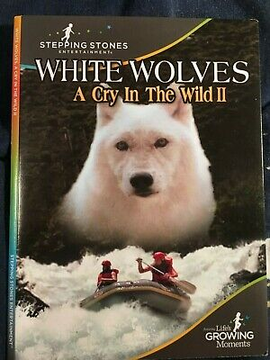 DVD-White Wolves (A cry in the Wild 2 (Stepping Stones Entertainment) - Like New