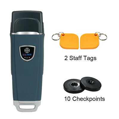 Rfid Inductive Guard Tour Patrol Reader System Beepvibrating Alert