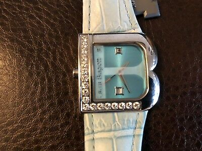 Italian Designer Laura Biagiotti Lady Watch Blue Dial Valentines Day Special