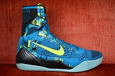 huge discount 301bb 59faa CLEAN NIKE KOBE IX 9 ELITE HIGH PERSPECTIVE 630847-400 Size 8.5 Blue Volt