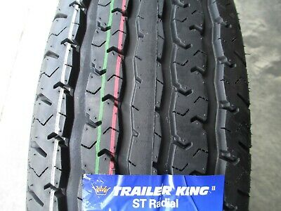 Quantity of 4 TRAILER KING RST ST205//75R15 107//102M 8 Ply