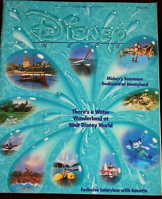 Walt Disney News Magazine 1993 Annette Funicello Interview + Legends Award