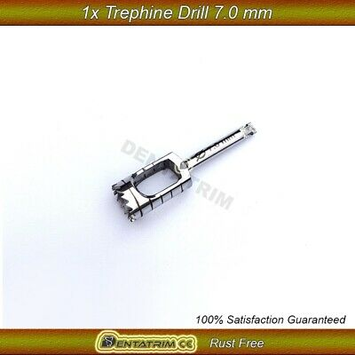 7.0mm Trephine Drill Dental Surgical Implant Bone Cutting Tools CE NEW