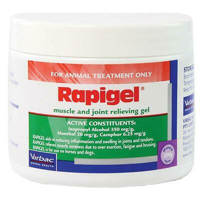 Rapigel Muscle & Joint Relieving Gel 250g - For Dogs & Horses