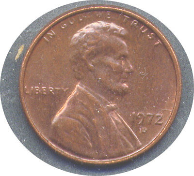 1972-D Lincoln Cent Doubled Die Obverse DDO #2 - CH XF