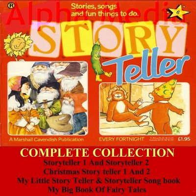 Story Teller Marshall Cavendish Complete Collection MP3 Audio & PDF 4 DISCS
