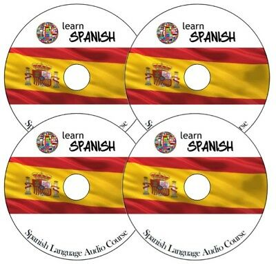 SPANISH Language Audio Course learn in a week on 4 AUDIO CDs